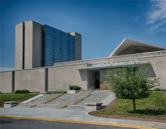 Photo of National Library of Medicine in Bethesda