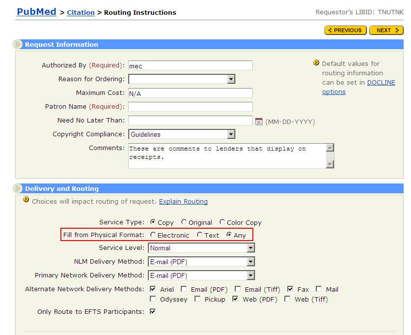 DOCLINE® Version 4.5 Release Notes