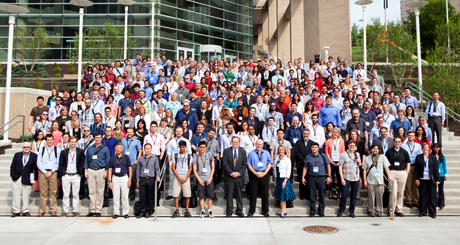 Photo of the participants at the 2014 NLM Training Conference.