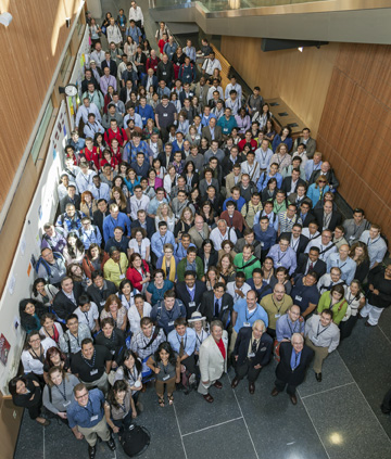 Photo of the participants at the 2012 NLM Training Conference.