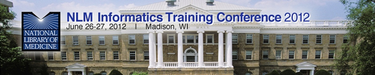 2012 NLM Informatics Training Conference banner