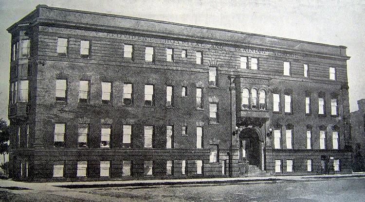 Provident Hospital, Chicago, 1896