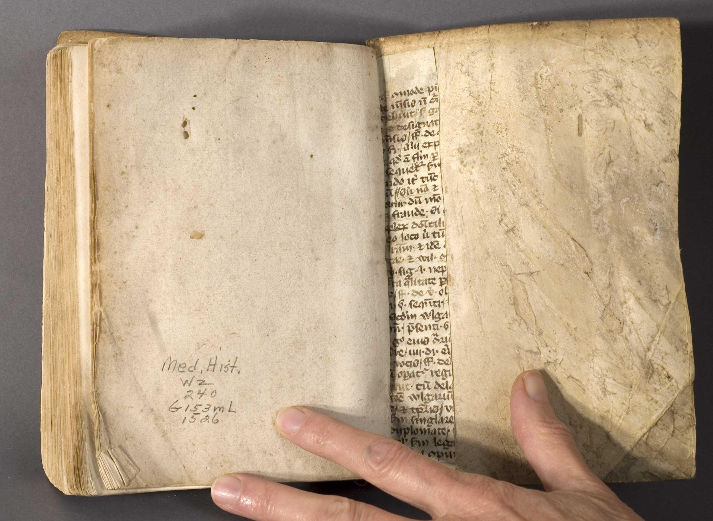 Manuscript Paper Book Manuscript Paper Book Vellum
