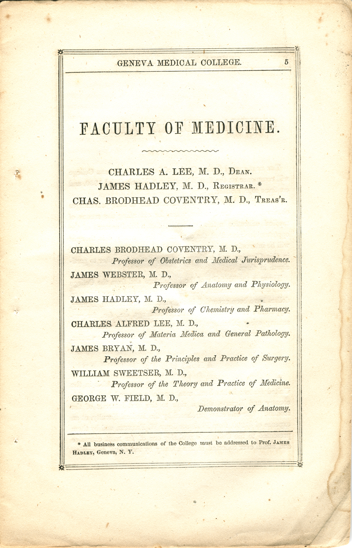 Elizabeth Blackwell That Girl There Is Doctor Of Medicine College