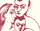 Cover illustration of a woman, a man, and a child.