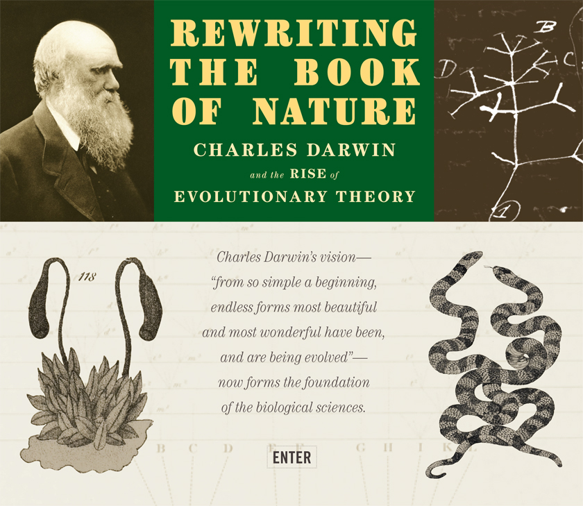 the life history of charles darwin the originator of the evolution theory His scientific voyage around the world led him to formulate the theory of evolution, which collided head-on with the concepts of the time.