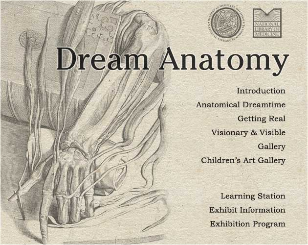 Dream Anatomy A National Library Of Medicine Exhibit