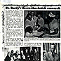 News article with typewritten text and photos including Dr. Berry training students and receiving an award.