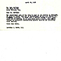 Page with typewritten text.
