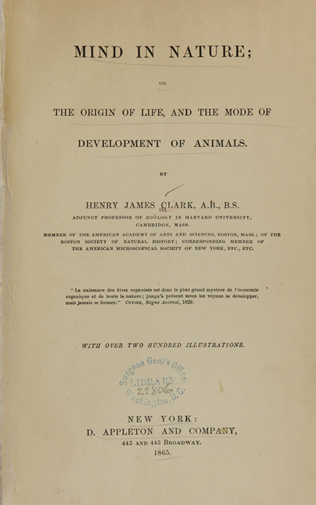 Picture of a title page from a book