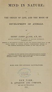 Picture of a title page from a book,