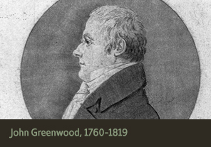<a href='onlineactivities05.html'>5. John Greenwood, 1760&ndash;1819</a><h4>John Greenwood, 1760&ndash;1819</h4><h5><em>Courtesy Library of Congress</em></h5><p>George Washington was a patient of Dr. John Greenwood, a former solider and dentist from New York. Dr. Greenwood repaired and made new custom dentures following George Washington&#8217;s specifications. View two letters between them dated 10 February and 10 September 1791.</p>