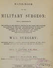 title page from Hand-book for the military surgeon