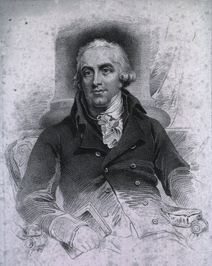Portrait of William Buchan, MD
