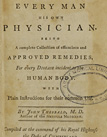 title page of Every man his own physician