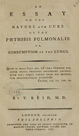Page from a book by Thomas Reid MD