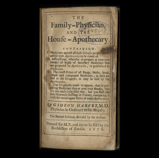 Title Cover of The Family Physician, and the House Apothecary by Gideon Harvey