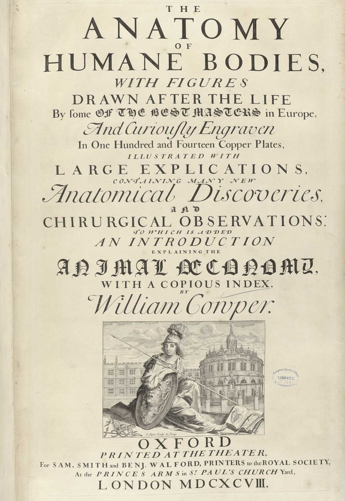 Historical Anatomies on the Web: William Cowper Home