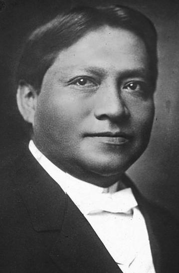 """Carlos """"Wassaja"""" Montezuma vers 1896"""