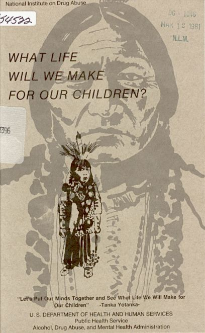... is an image of a small Native American child in native clothing