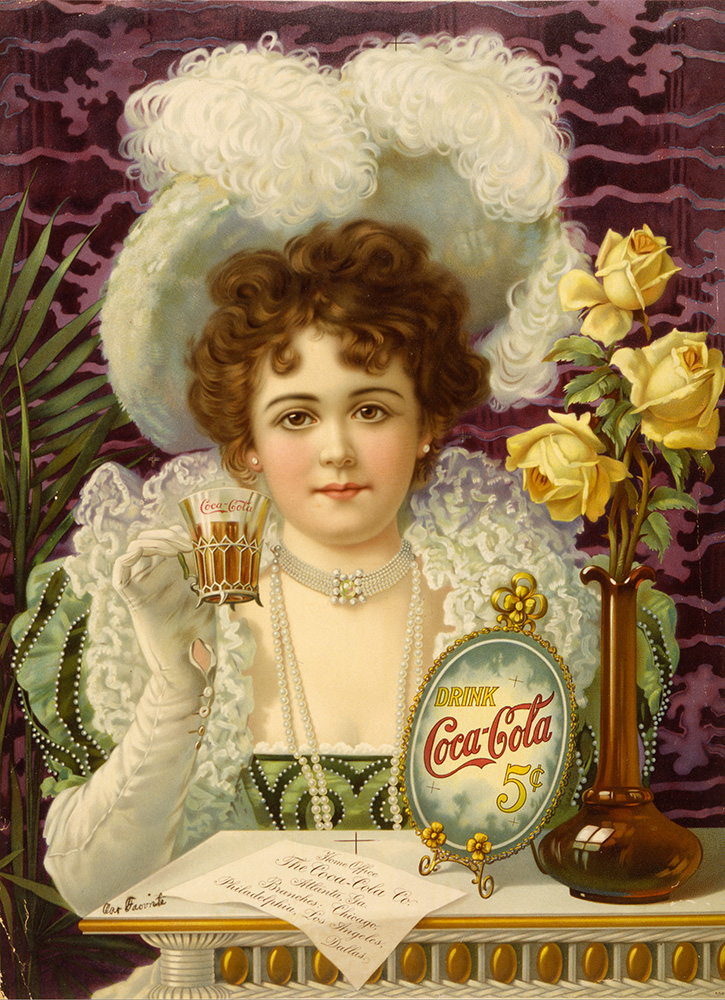 Coca-Cola adverstisement, c1890