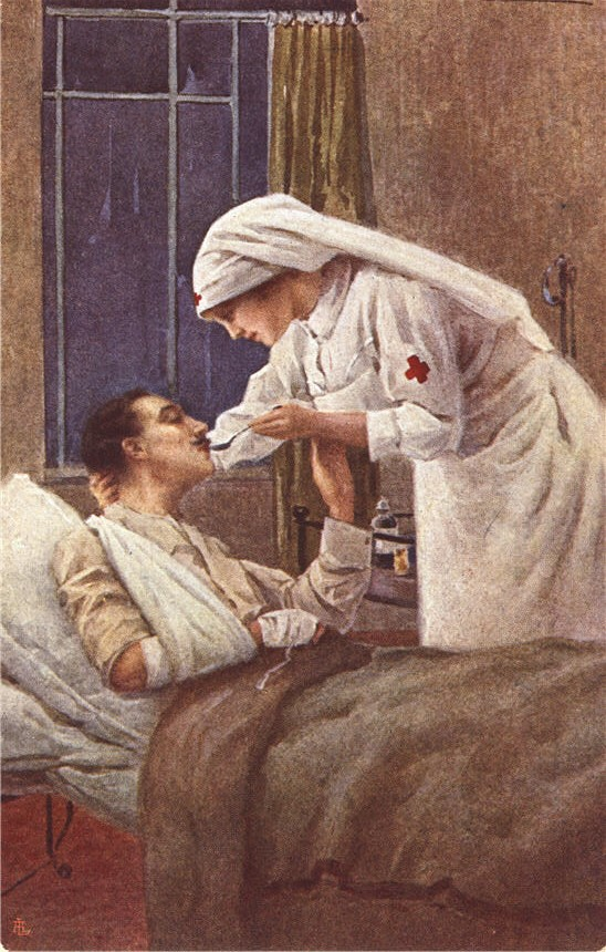 Pictures Of Nursing Picturing A Womans Mission Service To Humanity