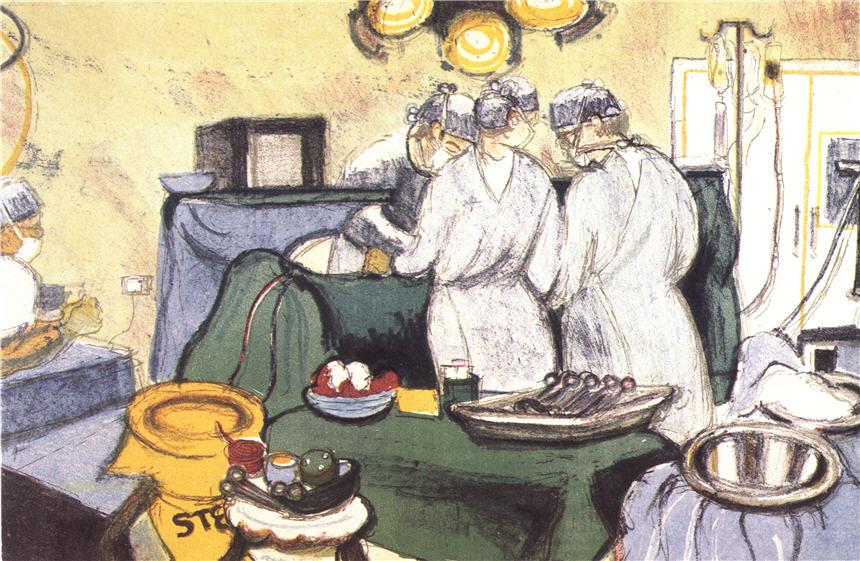 Best Vintage Nurse Illustrations, Royalty-Free Vector