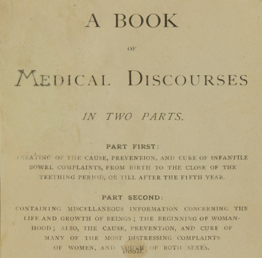 Title page of a book by Dr. Rebecca L. Crumpler.