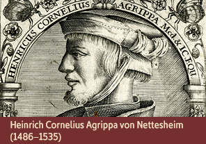 <a href='onlineactivities02.html'>2. Heinrich Cornelius Agrippa von Nettesheim (1486–1535)</a>     <h3> </h3>     <h4>Heinrich Cornelius Agrippa von Nettesheim, 1645</h4>     <h5>Creator: Theodor de Bry     <br>Courtesy National Library of Medicine<br /></h5>     <p>Heinrich Cornelius Agrippa von Nettesheim was a German occultist who wrote about ancient magic and its practical uses in <em>De Occulta Philosophia</em>, published in 1533. Agrippa believed that magic could benefit humanity if used respectfully and unselfishly.</p>