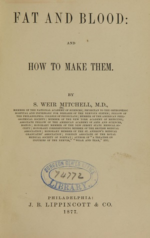 Title page of book.