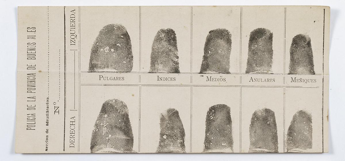 Visible Proofs Forensic Views Of The Body Galleries Cases Juan Vucetich And The Origins Of Forensic Fingerprinting