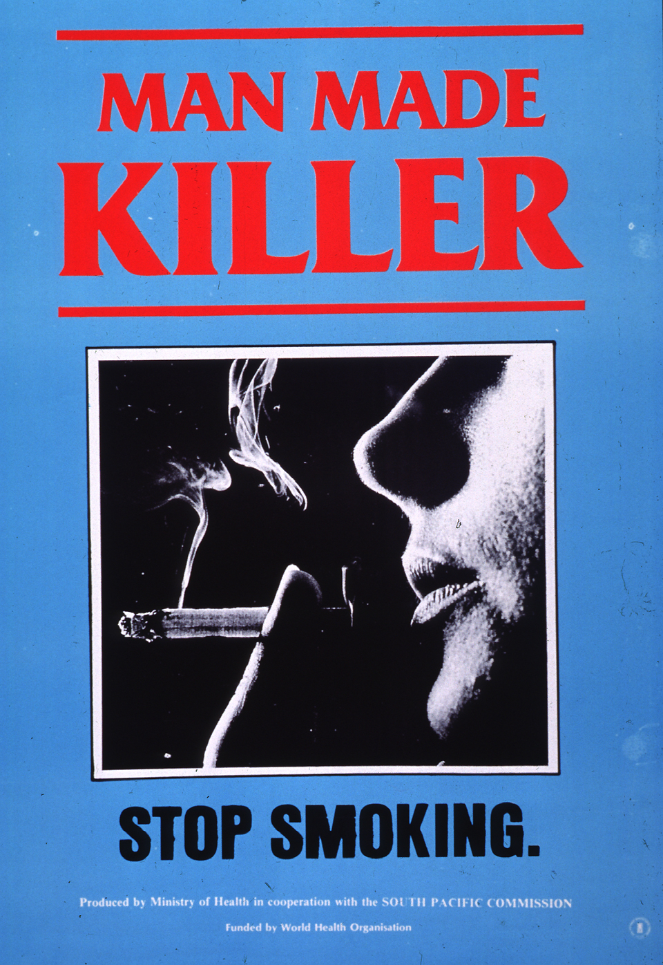 Man Made Killer. 1980s. Reproduced with permission of the World Health