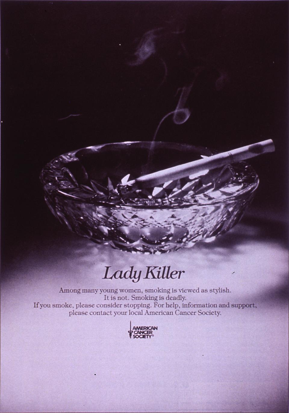 Visual Culture Anti Smoking Campaigns The Cigarette