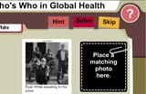 Who's Who in Global Health, Skip, Solve, Hint