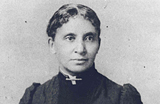 Historical photograph of a woman