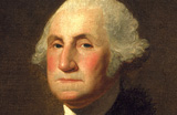 Painting of George Washington
