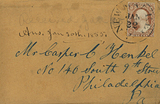 Envelope with cursive handwriting