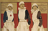 Voluntary Aid Detachment nurses.