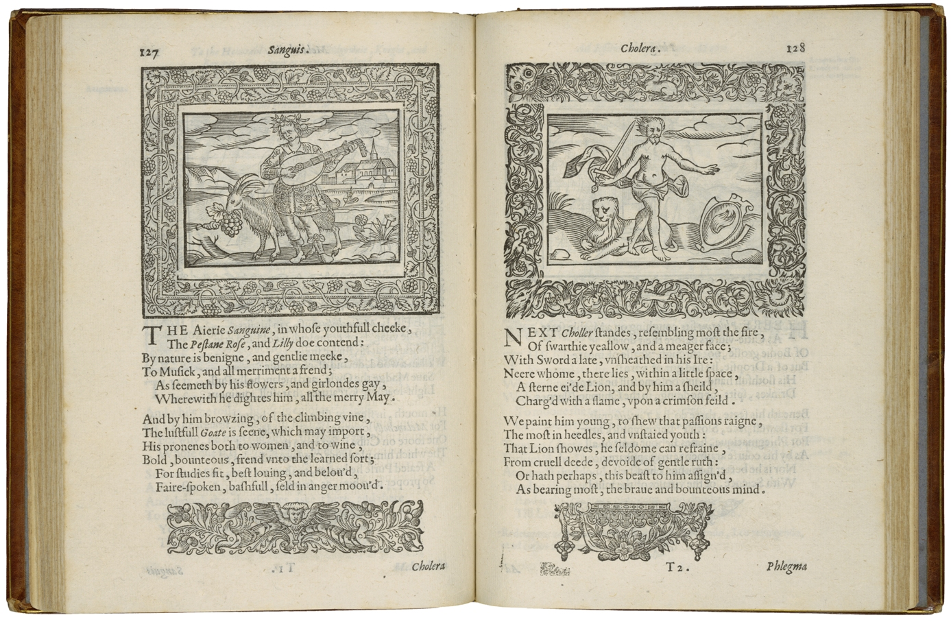 Image of the book Minerva Britanna, 1612. Courtesy Folger Shakespeare Library.