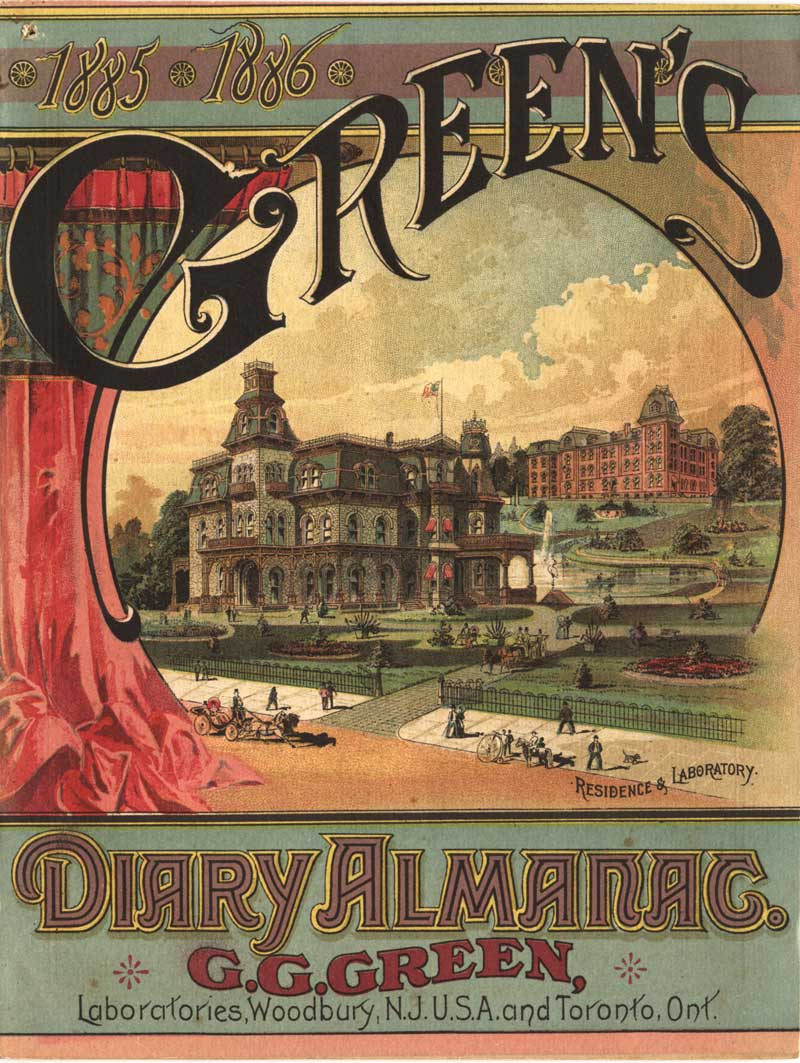 Time Tide And Tonics Heyday Of The Patent Medicine Almanac