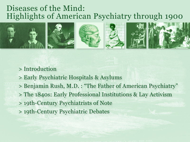 psychiatric disorders of the mind soc