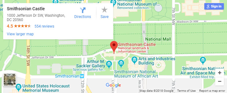 Smithsonian Washington Dc Map.Visit Historic Medical Sites In Downtown Washington Dc