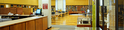 Photograph of History of Medicine Division Reading Room in Building 38.