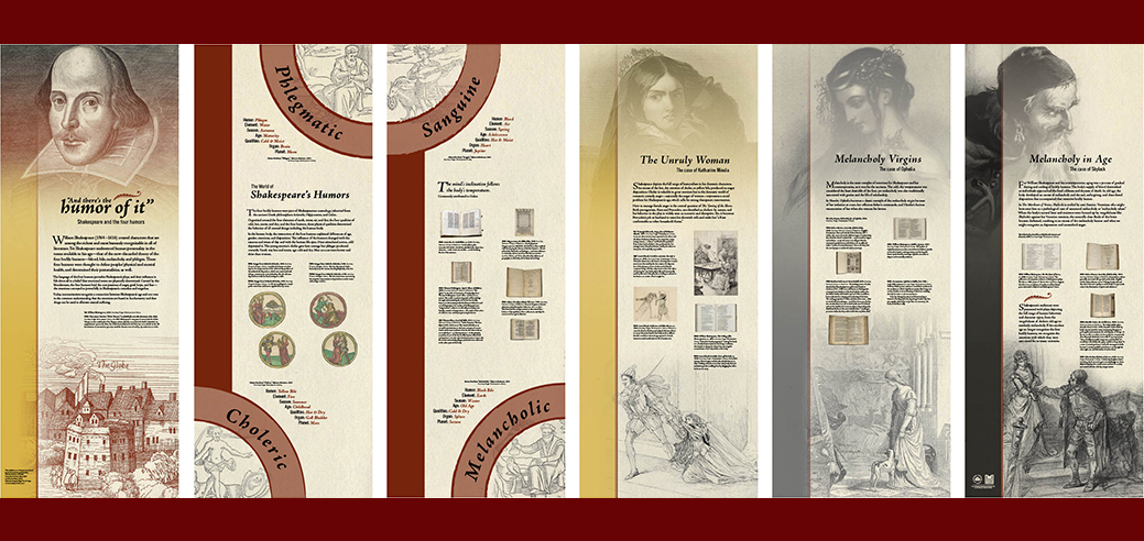 Shakespeare Exhibition Banner