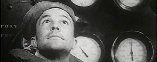 Still from a film featuring Gene Kelly