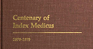 Index Medicus history title.
