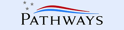 The Pathways logo.