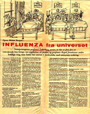 Influenza fra universet