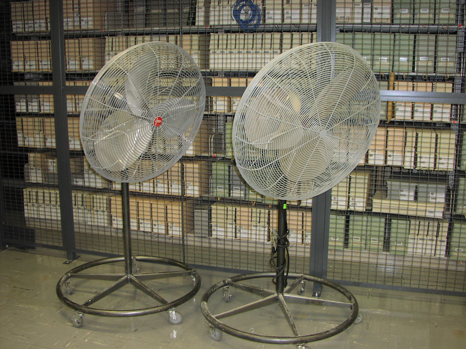 Large Floor Fans : Emergency preparedness and response sample plan