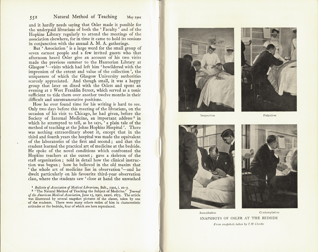 osler medical essay